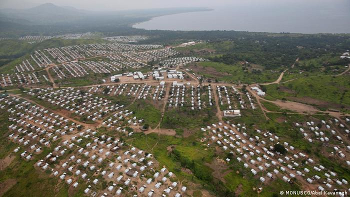 MONUSCO refugee camp home to Burundian refugees in the Democratic Republic of Congo (DRC)