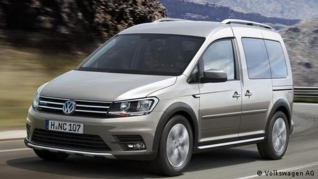 VW Caddy Alltrack 2016