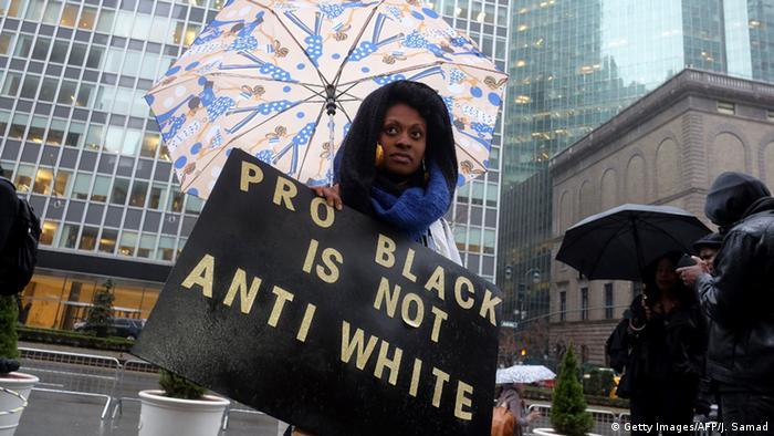 USA Super Bowl 50 Beyonce Reaktionen Demo (Getty Images/AFP/J. Samad)
