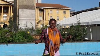 Journalist and blogger Lindsey Kukunda was a victim of digital harassment (Photo: Fodé Kouyaté)