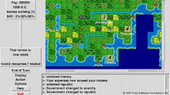 BG Strategiespiele Civilization Computer (screenshot)