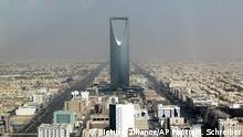 Saudi Arabien Königsturm in Riad