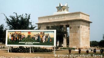 Ghana Gründungsvater Kwame Nkrumah