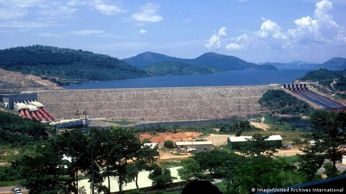 The Akosombo dam in Ghana Copyright: Imago/United Archives International