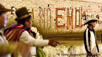 Canedo rechaza la presentación del conflicto como una polarización entre indios y caras: La población boliviana optó por la democracia desde febrero de 2016.