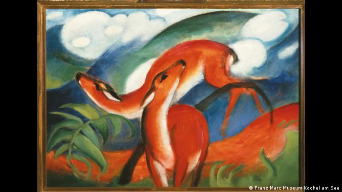 franz marc the artist who saw nature through a wilder than instagram filter arts dw. Black Bedroom Furniture Sets. Home Design Ideas