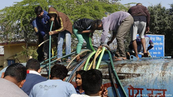 indien Wasserkrise in Delhi