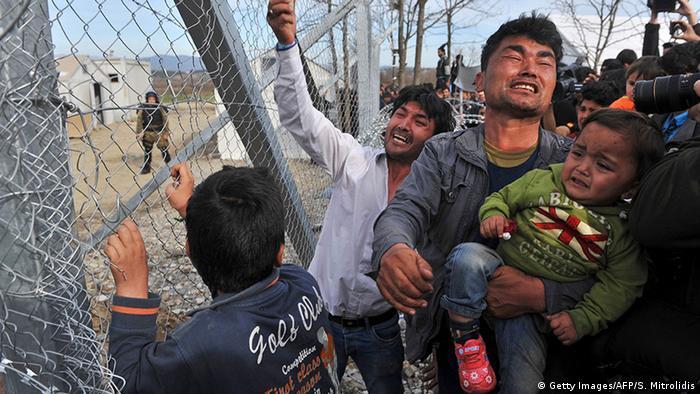 Griechenland Grenze zu mazedonien geschlossen Protest