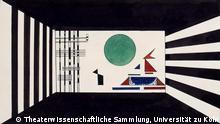 Deutschland Dessau Bild II Gnomus Ausstellung Bühnenbild-Entwürfe von Wassily Kandinsky