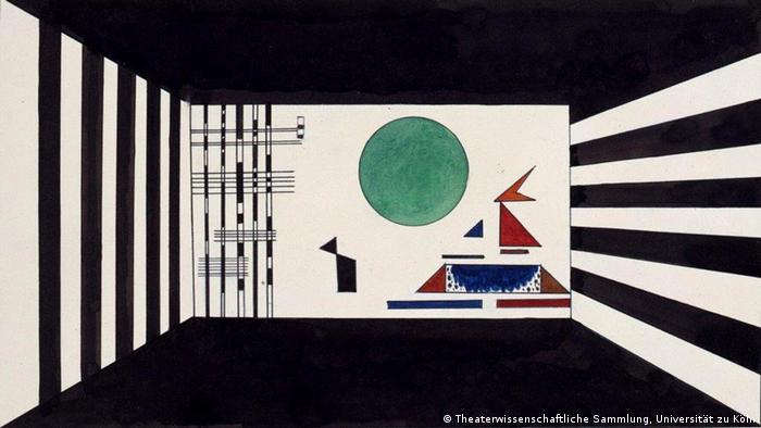 Gnomus: эскиз Василия Кандинского на выставке в Дессау