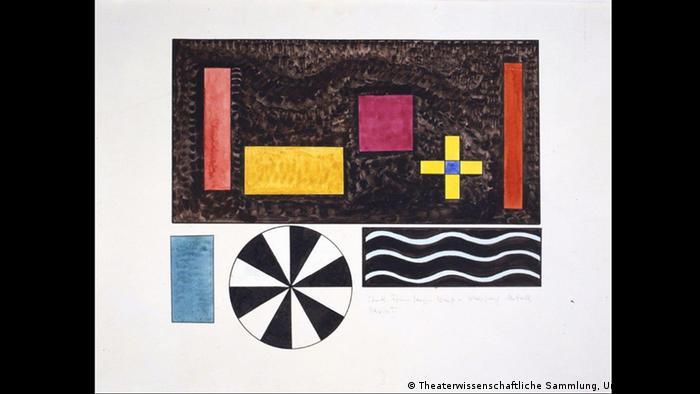 Bydlo: эскиз Василия Кандинского на выставке в Дессау