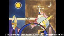 Deutschland Dessau Bild XVI Das große Tor von Kiew Ausstellung Bühnenbild-Entwürfe von Wassily Kandinsky