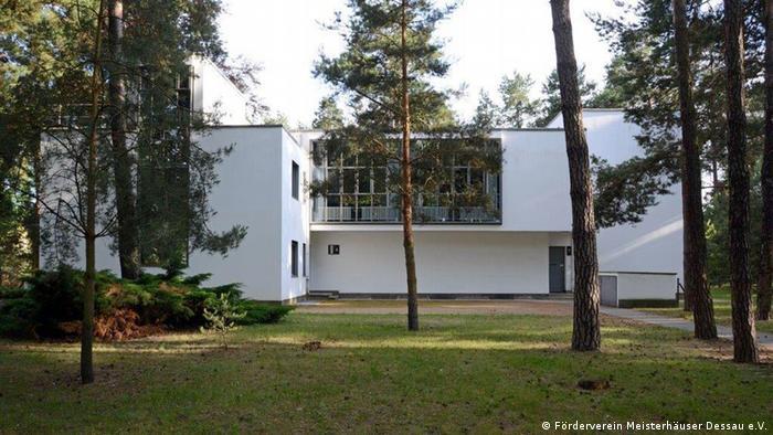 Deutschland Dessau das Meisterhaus der Künstler Wassily Kandinsky und Paul Klee (Förderverein Meisterhäuser Dessau e.V.)