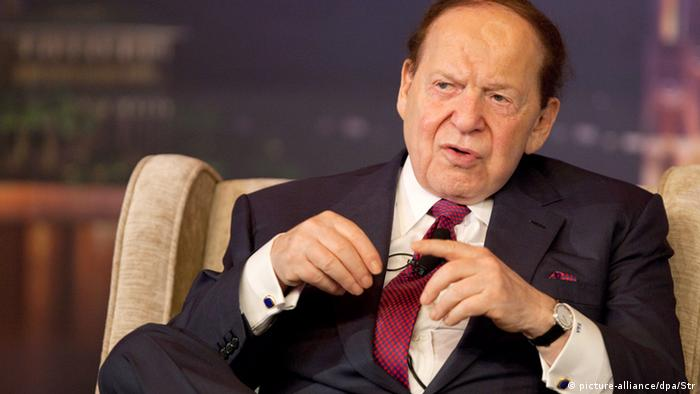 Sheldon Adelson (photo: picture-alliance/dpa/Str)
