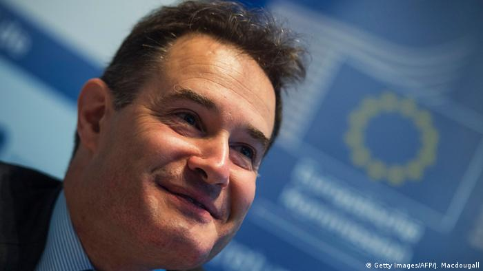 Frontex Chef Fabrice Leggeri in Berlin (Getty Images/AFP/J. Macdougall)