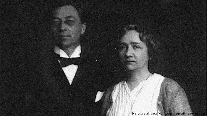 Portrait Wassily Kandinsky and Gabriele Münter