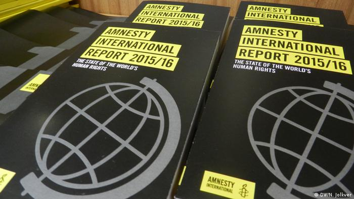 Amnesty International PK zur Lage der Menschenrechte 2015/2016