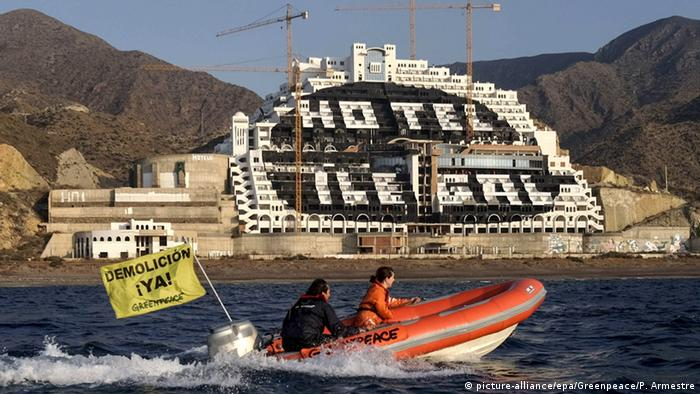 Greenpeace campaign against El Algarrobico