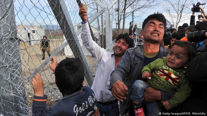 Griechenland Mazedonien Flüchtlinge aus Afghanistan Idomeni