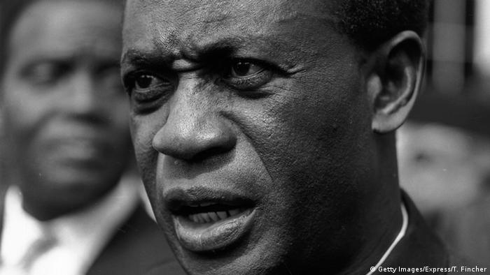 Ghana Kwame Nkrumah (Getty Images/Express/T. Fincher)