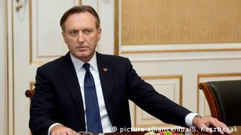 Sprecher des montenegrinischen Parlaments Ranko Krivokapic