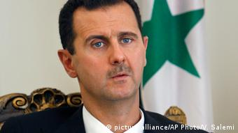 Syrien Präsident Baschar al-Assad (Foto:picture alliance/AP Photo/V. Salemi)