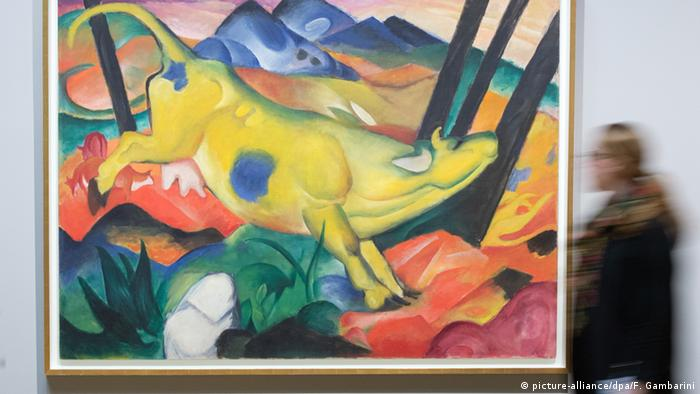 Deutschland Kunstmuseum Bonn - Gemälde von Franz Marc
