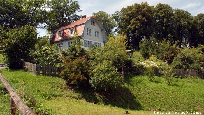 Deutschland Münterhaus in Murnau