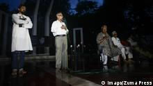 Aug. 14, 2015 - Dhaka, Bangladesh - Ajoy Roy, father of Avijit Roy, gives his speech as he takes part in mass procession and Protest on blogger Niladri Chattopadhyay killing, at national Shaheed Minar, in Dhaka, Bangladesh. Blogger Niladri Chattopadhyay was killed at his home at Dhaka on Aug 7, 2015. Police claim that banned Islamic outfit Ansarullah Bangla Team is behind the murders. Dhaka Bangladesh PUBLICATIONxINxGERxSUIxAUTxONLY - ZUMAd117 Aug 14 2015 Dhaka Bangladesh Roy Father of Avijit Roy Gives His Speech As he Takes Part in Mass Procession and Protest ON Blogger Niladri Chattopadhyay Killing AT National Shaheed Minar in Dhaka Bangladesh Blogger Niladri Chattopadhyay what KILLED AT His Home AT Dhaka ON Aug 7 2015 Police Claim Thatcher Banned Islamic Outfit Ansarullah Bangla Team IS behind The murders Dhaka Bangladesh PUBLICATIONxINxGERxSUIxAUTxONLY ZUMAd117 © Imago/Zuma Press