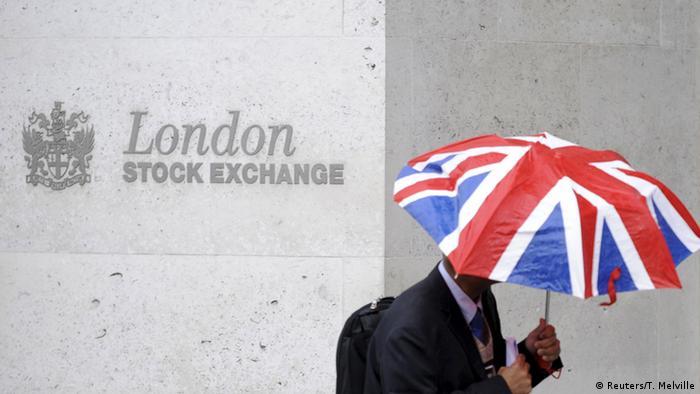 Großbritannien Börse in London Symbolbild