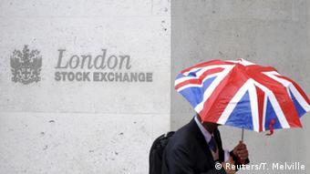 Лондонская биржа, фото из архива