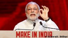 Indien Narendra Modi Werbekampagne Make In India
