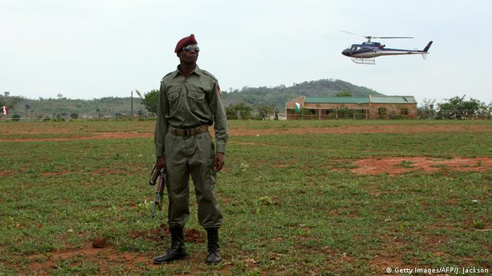Mosambik Soldat Symbolbild
