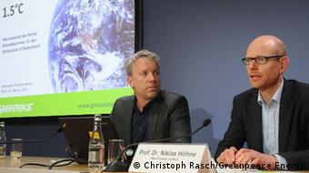 Berlin press conference, Greenpeace