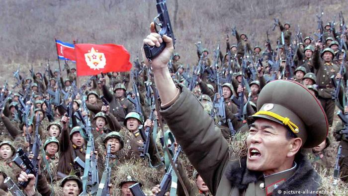 The North Korean army said it has the world's most powerful and ultra-modern strike means
