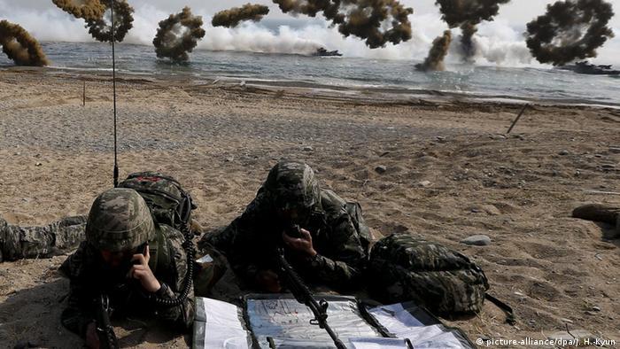 Südkorea Armee Training