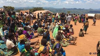 Flüchtlingslager in Kapise, Malawi