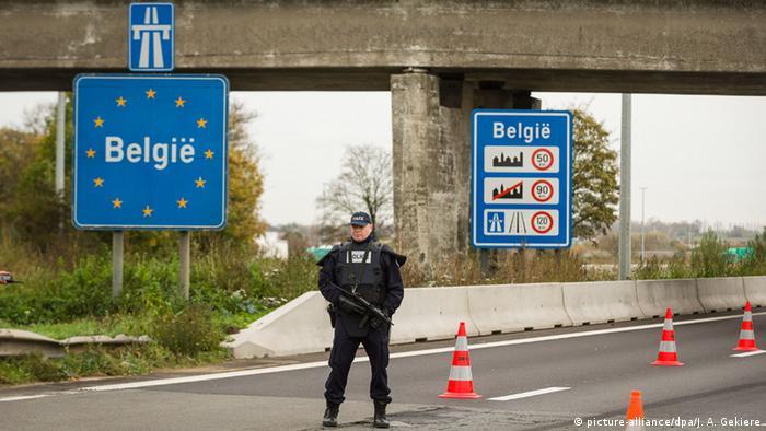 Граница Бельгия