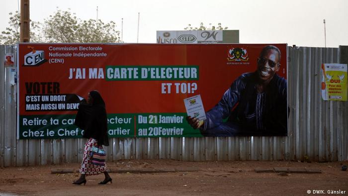 Niger Präsidentschaftswahl