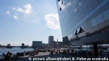 Dänemark Kopenhagen Neubau Black Diamond der königlichen Bibliothek