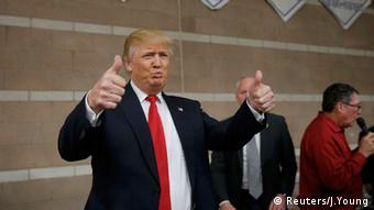 Donald Trump Fans Nevada USA Wahlkampf