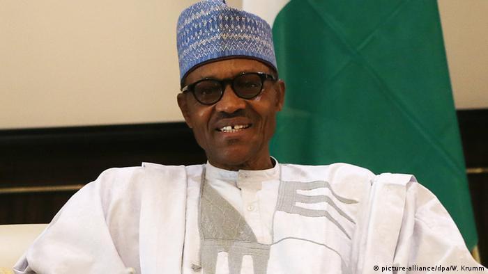 Nigeria Abuja Präsident Muhammadu Buhari (picture-alliance/dpa/W. Krumm)