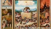 Hieronymus Bosch De Hooiwagen Gemälde