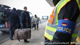 Депортация из ФРГ выходцев из балканских стран