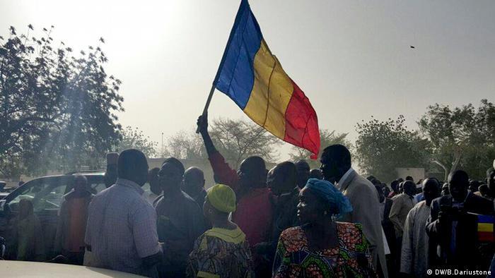 Tschad Zouhoura Protest
