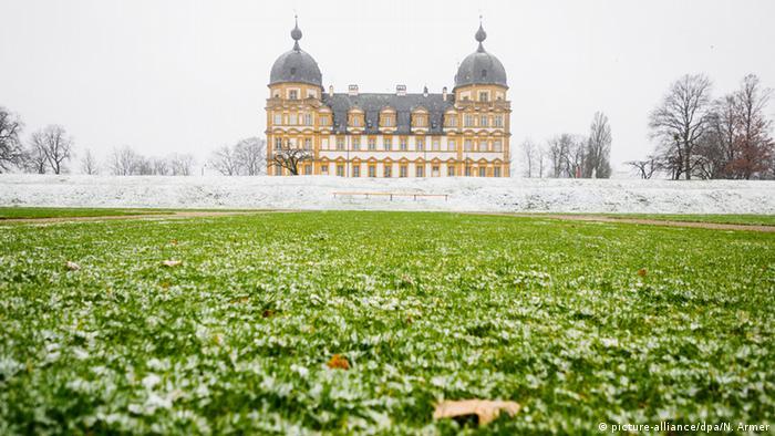 Дворец Зеехоф. Эта фотография сделана в конце февраля