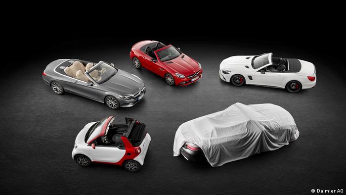 Моделі Mercedes перед Женевським автосалоном