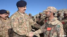 Pakistans Army Chief Raheel Shareef. He visited the Shawal region to review the military operation. Copyright: ISPR