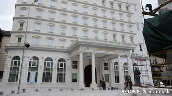 Mazedonien Gebäude Regierung