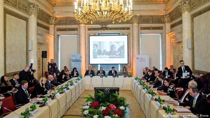Österreich Westbalkan Konferenz zur Flüchtlingskrise in Wien